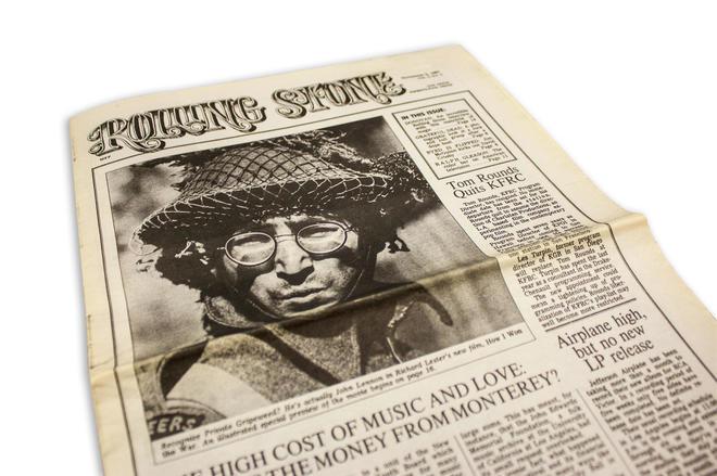 """#Undíacomohoy: en 1967 se publica el primer número de la revista""""Rolling Stone"""""""