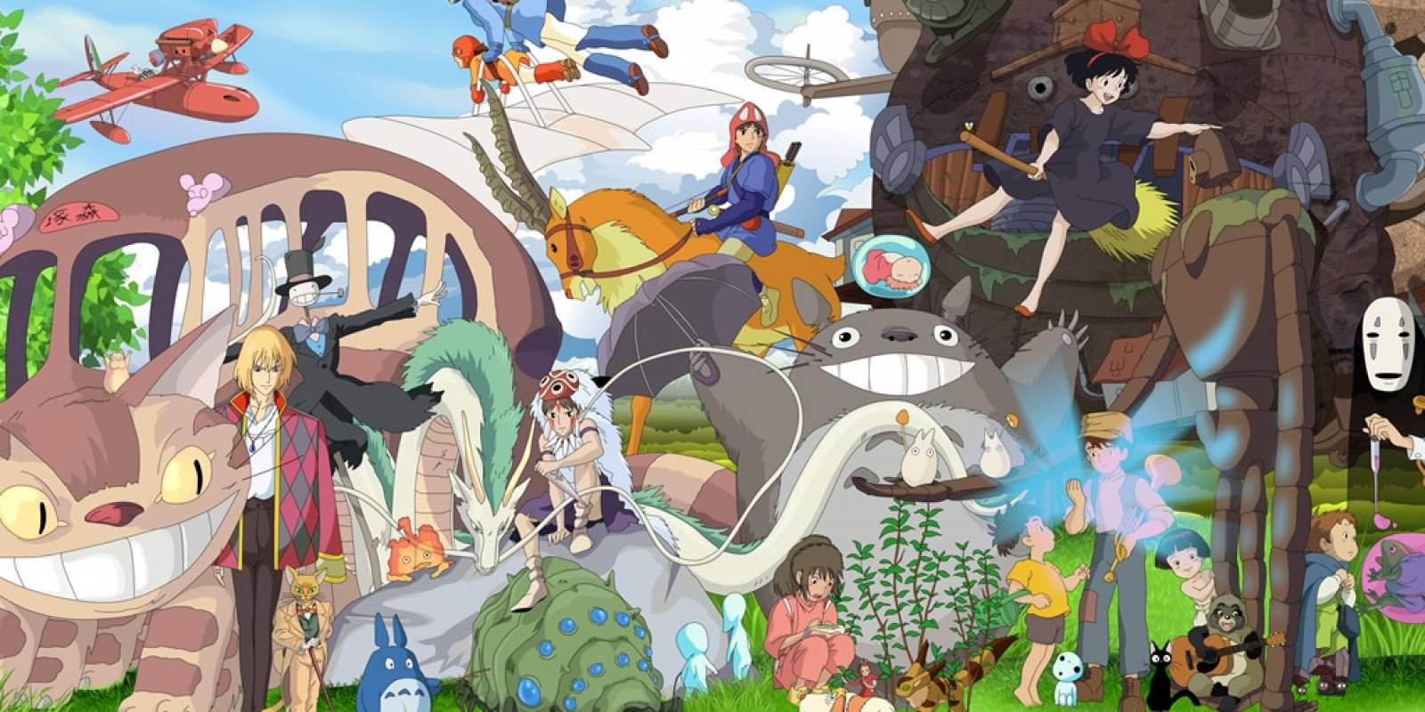 Las películas de Studio Ghibli llegan a Netflix Latinoamerica