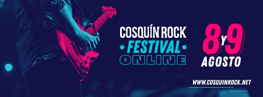 Ya está disponible el line up del Cosquín Rock online