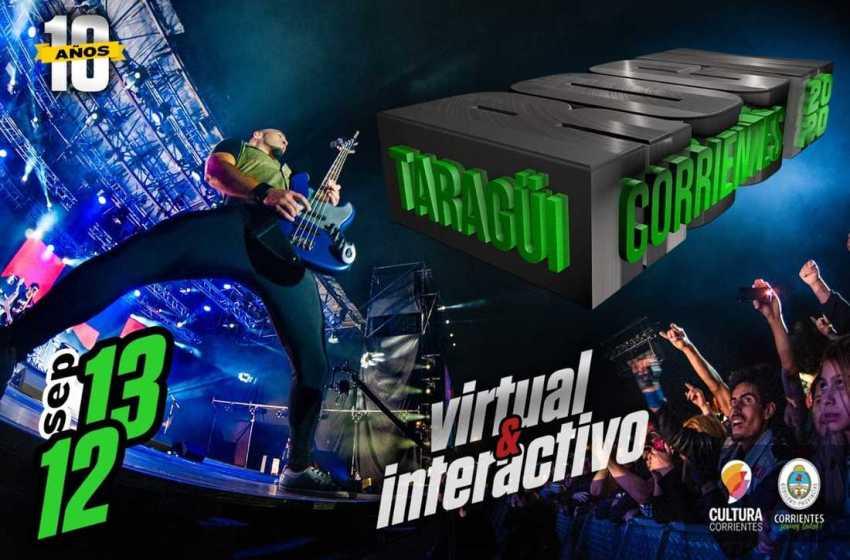TARAGÜÍ ROCK 2020: El rock local encabeza la grilla del festival que será virtual, interactivo e histórico