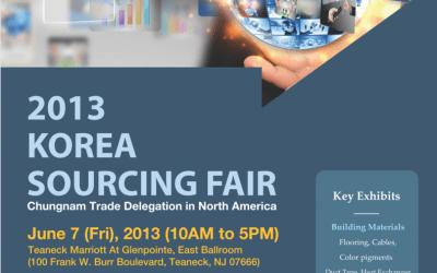 2013 Korea Sourcing Fair