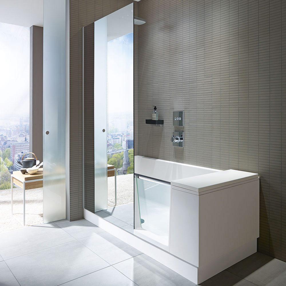 Duravit Shower Amp Bath Dusch Badewanne Ecke Links 170 X 75