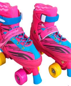 patines clasicos regulables de 4 ruedas roller skate mega bahía