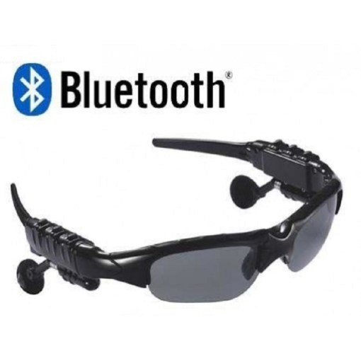 gafas deportivas con bluetooth color negro