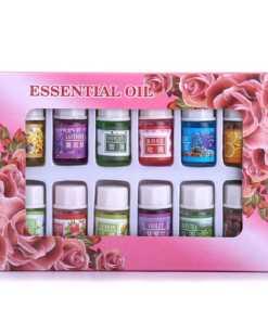 Kit de Aceites Esenciales 12 Botellas de Diferentes Aromas