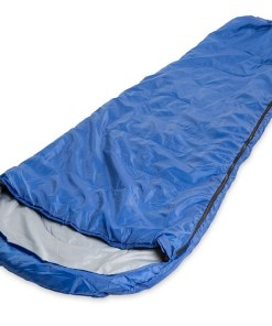 Bolsa para dormir sleeping bag color azul mega bahía