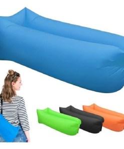 Colchón inflable tipo canoa para camping varios colores mega bahía