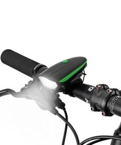 Luz para bicicleta con pito instalación Mega Bahía