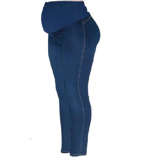 Pantalón de maternidad para embarazada color azul oscura Mega Bahía