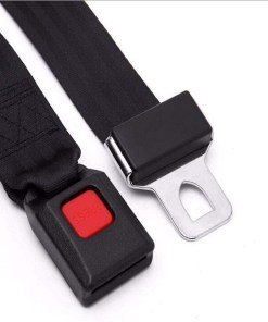 Cinturón de seguridad de dos puntos color negro parte inferior mega bahía