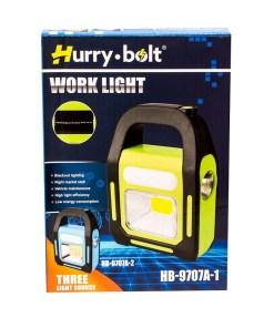 Linterna de tres funciones recargable horry bolt caja mega bahía