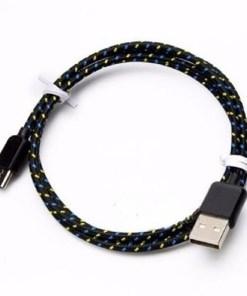 cable de tipo c datos y carga color negro mega bahía