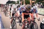 Wiggle-Honda did a good job of controlling the race for Bronzini, but it wasn't to be.