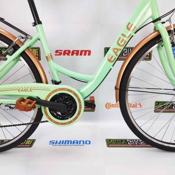 Bicicletas-talla-aro-700-mega-bike-store-bike-ruta-carrera-shimano-triatlón-aluminio-eagle-city-bike-verde