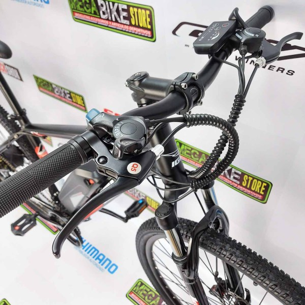 Bicicleta-guayaquil-mtb-montañera-talla-mega-bike-store-bike-shimano-igm-electrica-aro29-aluminio-negro-roja