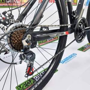 Bicicleta-guayaquil-mtb-montañera-talla-mega-bike-store-bike-shimano-gtb-aro-29-aluminio-cycle-rojo-negro