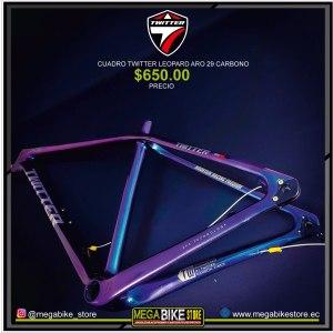 Bicicleta-guayaquil-mtb-montañera-talla-mega-bike-store-bike-shimano-twitter-leopard-aro-29-carbono.