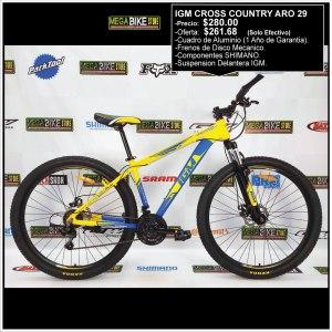 Bicicleta-guayaquil-mtb-montañera-talla-mega-bike-store-bike-shimano-igm-cross-country-aro-29-aluminio-azul-amarillo.
