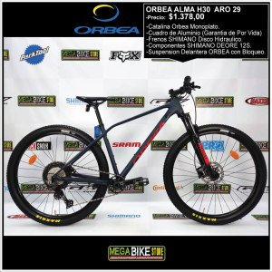 Bicicleta-guayaquil-mtb-montañera-talla-mega-bike-store-bike-shimano-orbea-alma-h30-aro-29-aluminio-rojo-azul.