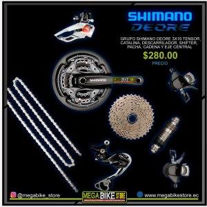 Bicicleta-guayaquil-mtb-montañera-talla-mega-bike-store-bike-shimano-grupo-shimano-30-velocidades-deore