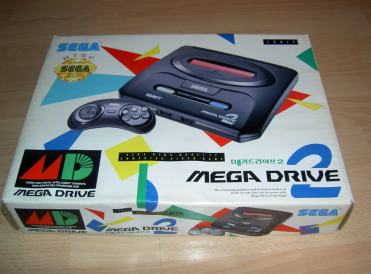 Sega Mega Drive 2 – South Korea (officially licensed)