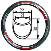 406-30 clincher folding bike rim