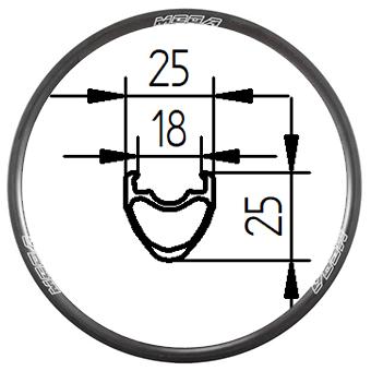 26C+ 26 inch Tubeless Clincher MTB rim