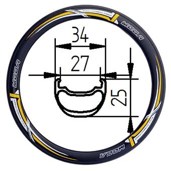 29C+34D Tubeless