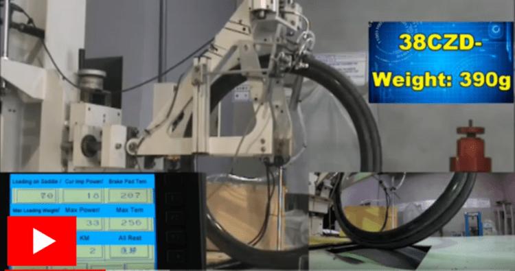 carbon fiber wheel test