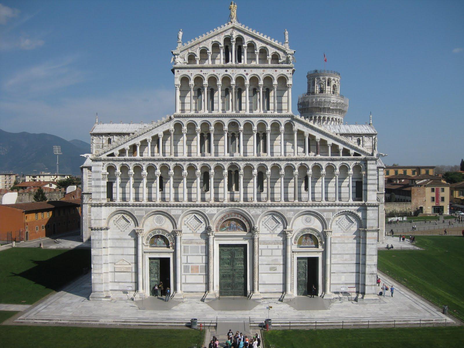 Resultado de imagen de catedral de pisa