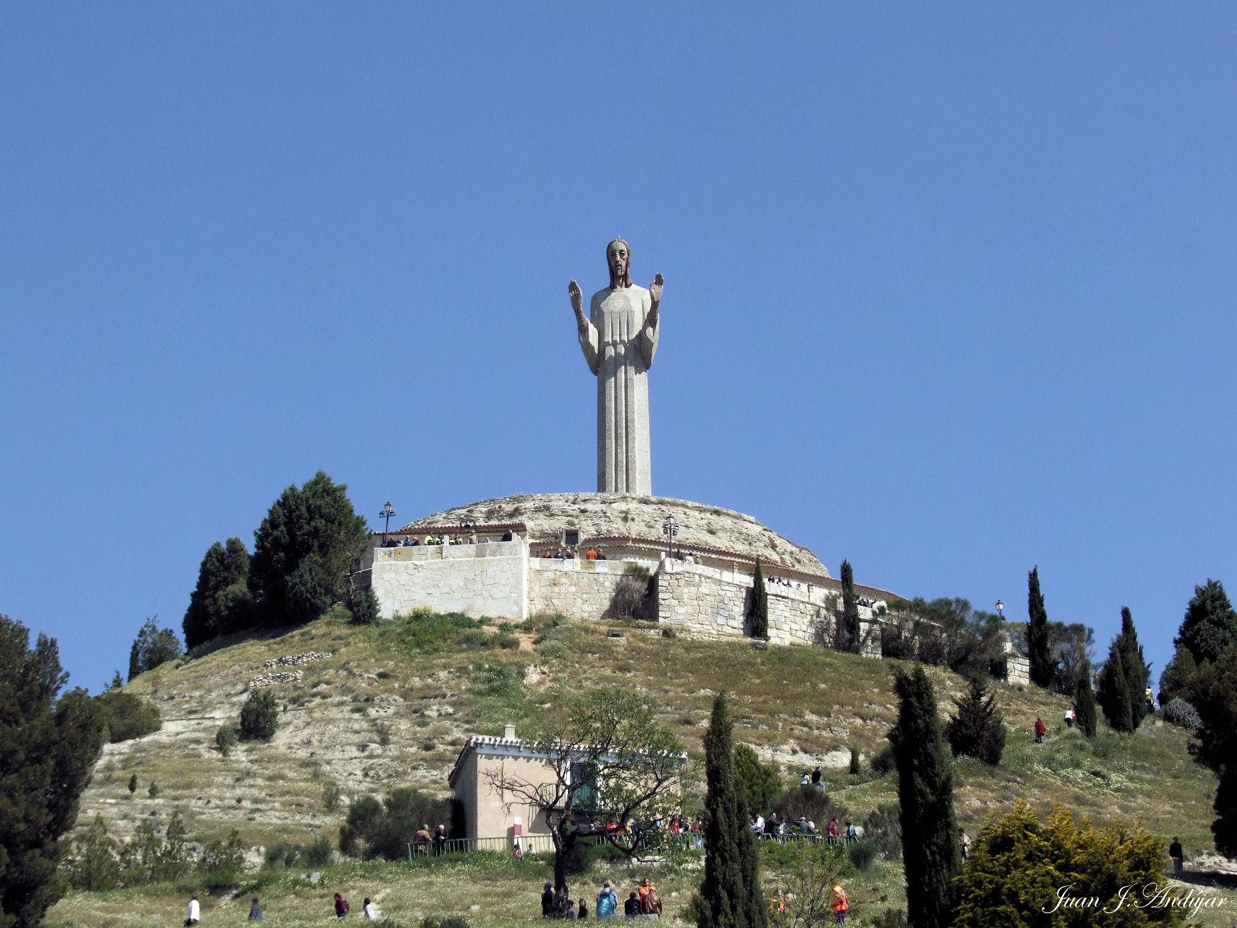 Cristo Del Otero Monumento De Palencia Al Sagrado Coraz 243 N