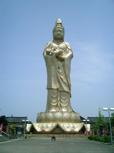 Kaga Kannon, Kaga Onsen Statue - Megaconstrucciones ...