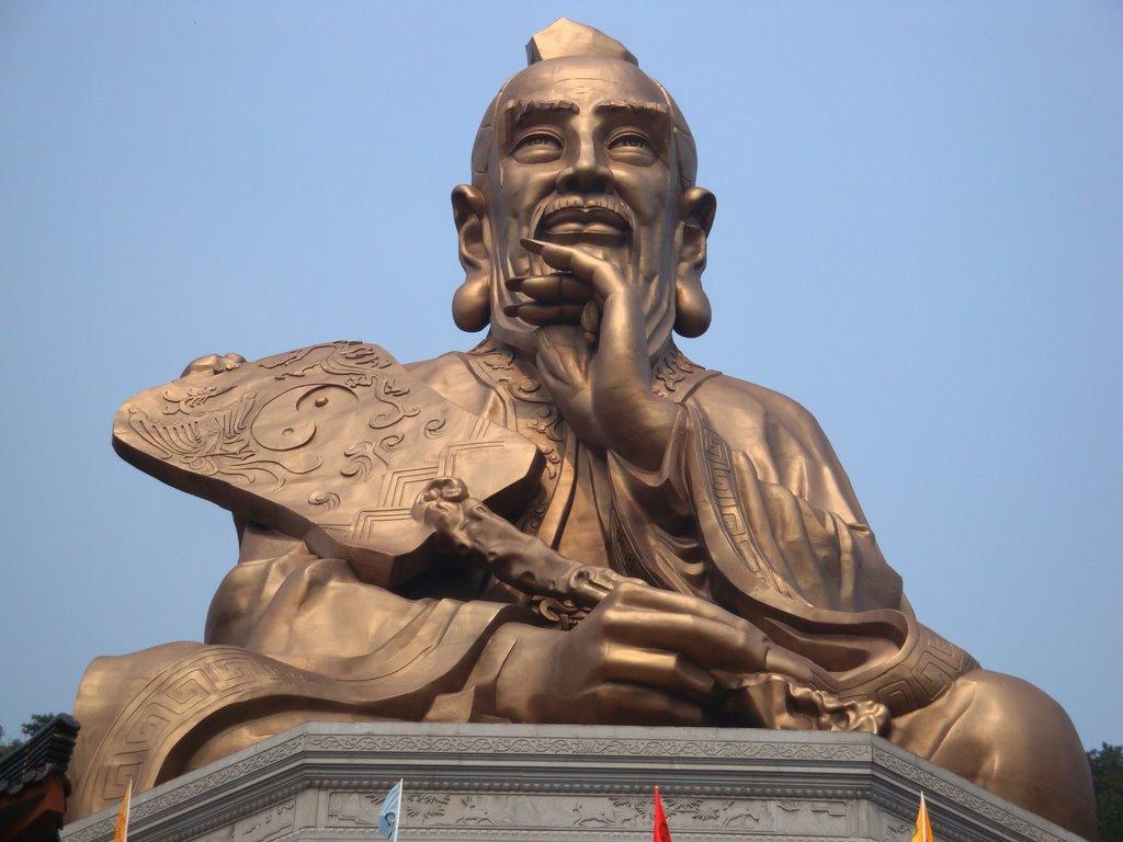 Estatua De Laozi En El Monte Mao Megaconstrucciones