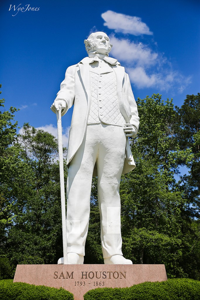 Estatua De Sam Houston En Huntsville A Tribute To Courage