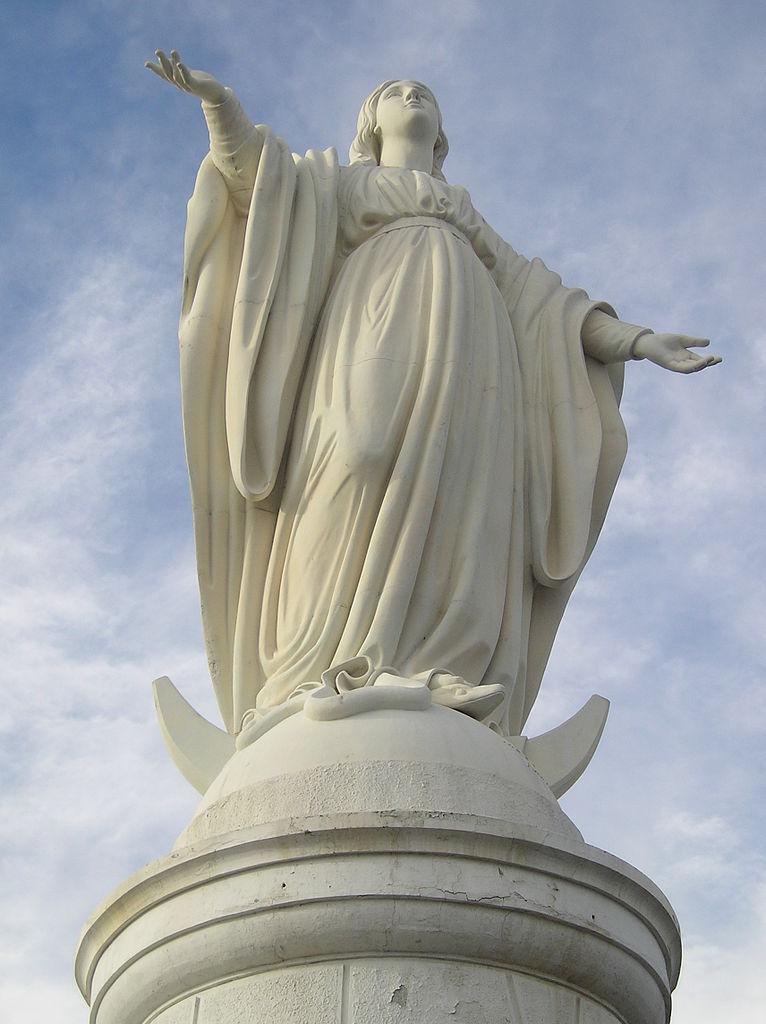 Virgen Del Cerro San Crist 243 Bal Estatua De La Inmaculada