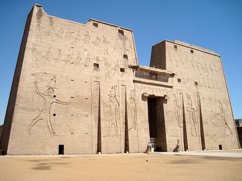 Templo De Edfu Templo De Horus En Efdu