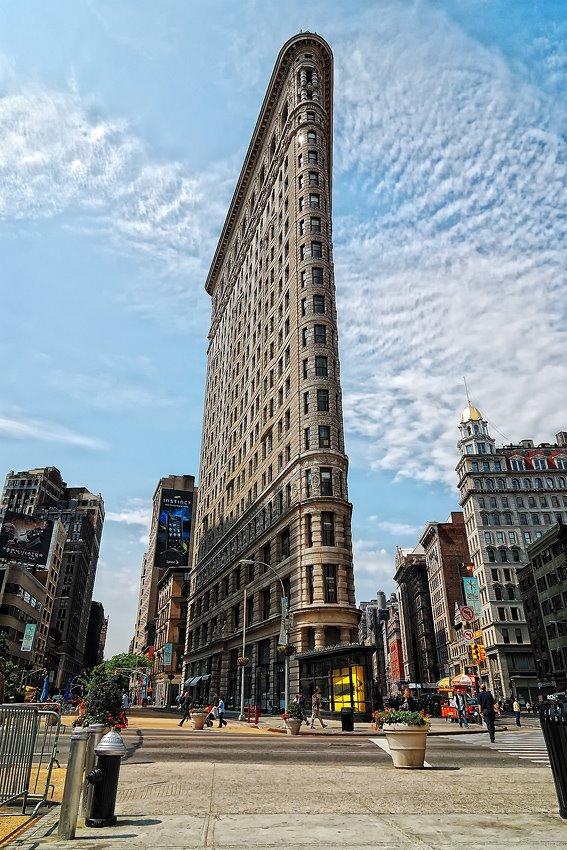 Resultado de imagen de rascacielos flatiron new york