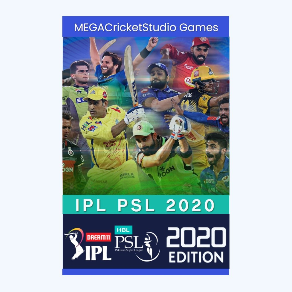 IPL PSL 2020   A Brand New Realistic IPL PSL Game for PC/Laptop
