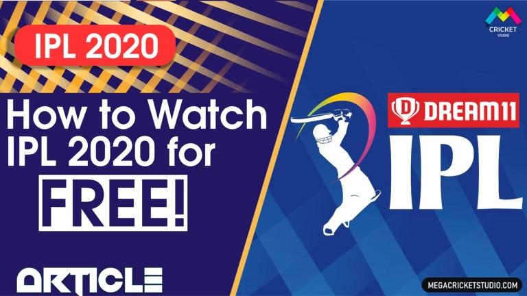How to Watch IPL 2020 for Free on Mobile | Watch IPL Live Streaming for Free!