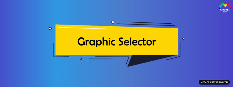 Graphic Selector for EA Sports Cricket 07
