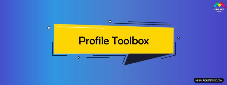 Profile Toolbox for EA Sports Cricket 07