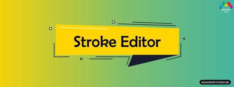 Stroke Editor for EA Sports Cricket 07