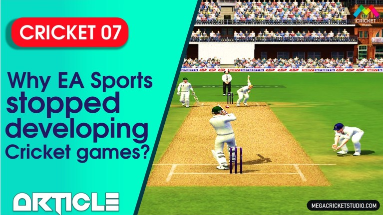 Why EA Sports stopped developing Cricket Games?