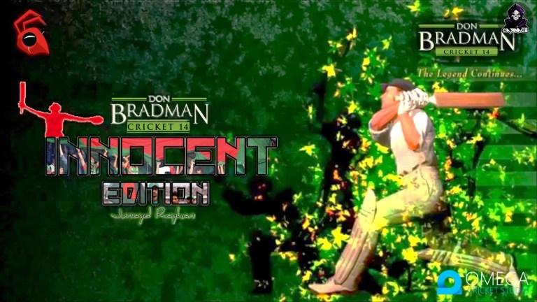 Don Bradman Cricket 2014 Innocent Edition V8.0 for Don Bradman Cricket 14