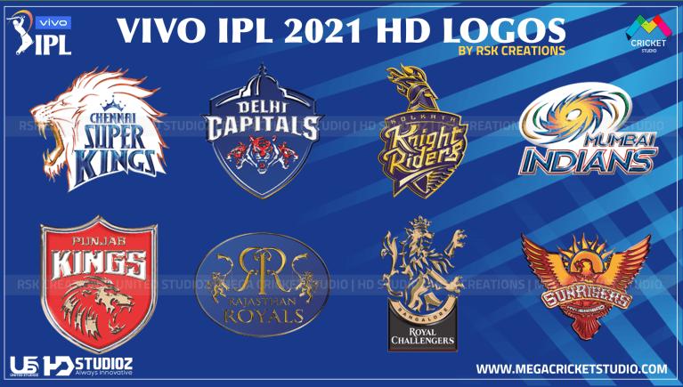 VIVO IPL 2021 Logos for EA Cricket 07
