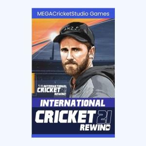 International Cricket 2021 Rewind Patch Product Banner megacricketstudio.com