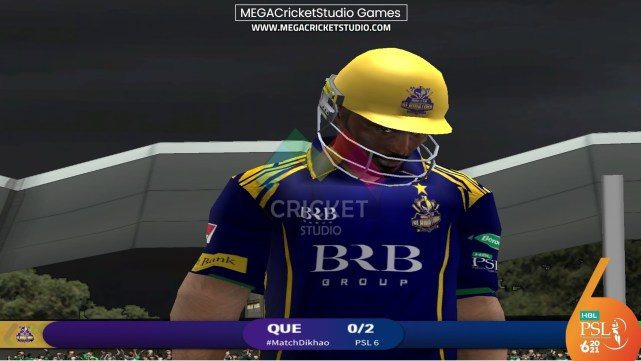 HBL PSL 2021 Patch for EA Cricket 07