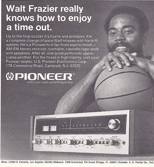 """Walt """"The Clyde"""" Frazier. New York Knicks Legend"""