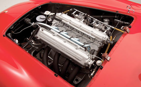 1955 Ferrari Monza Spyder - Engine