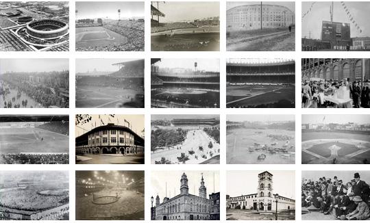 Vintage Photos of Old Sport Venues